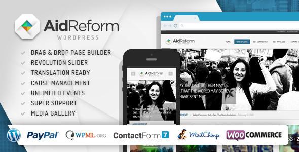 aid reform wordpress theme