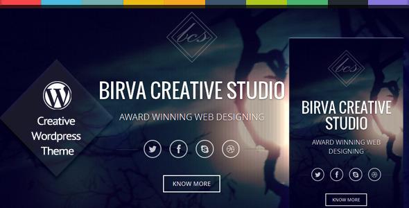 birva wordpress theme