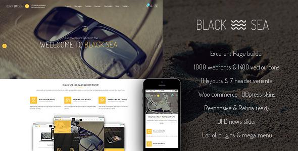 black sea wordpress theme