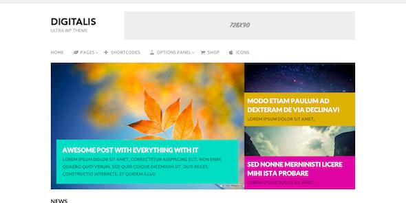 digitalis wordpress theme