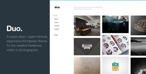 duo wordpress theme
