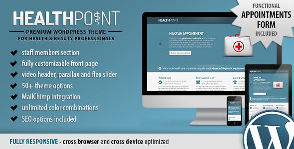 healthpoint wordpress theme