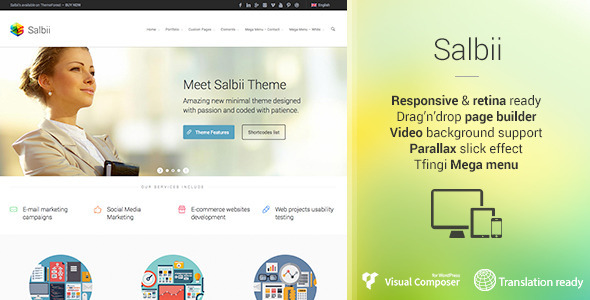 salbii wordpress theme