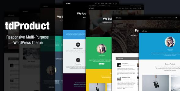 tdproduct wordpress theme