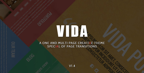 vida wordpress theme