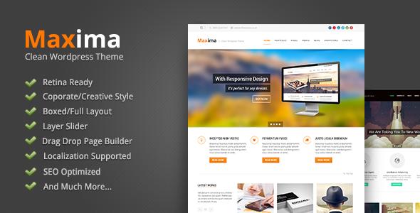 maxima wordpress theme