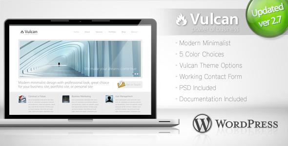 vulcan wordpress theme
