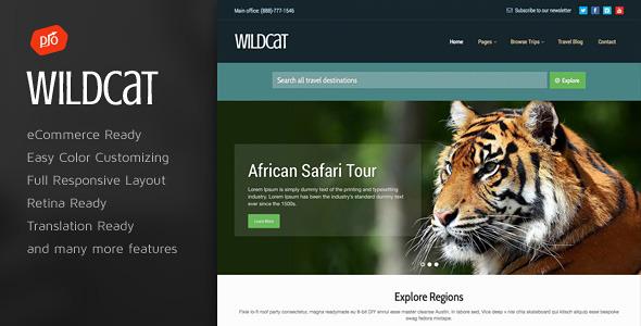 wildcat wordpress theme