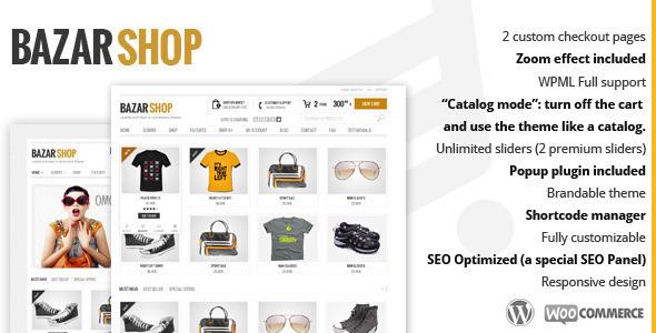 bazarshop wordpress theme