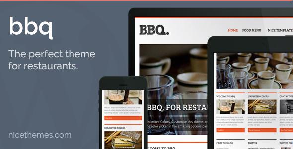 bbq wordpress theme