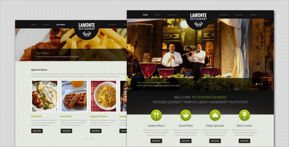 lamonte wordpress theme