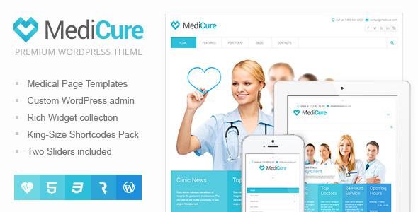 medicure wordpress theme