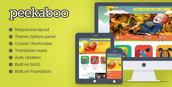 pekaboo wordpress theme