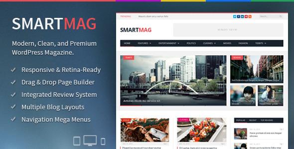 smartmag wordpress theme