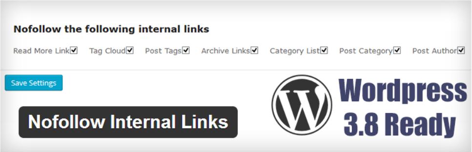 nofollow internal links wordpress